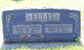 SOUTHWICK ELLIS, LOUISA CATHERINE - Weber County, Utah | LOUISA CATHERINE SOUTHWICK ELLIS - Utah Gravestone Photos