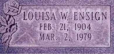 ENSIGN, LOUISA GWEN - Weber County, Utah   LOUISA GWEN ENSIGN - Utah Gravestone Photos