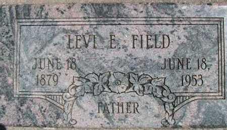 FIELD, LEVI EDWARD - Weber County, Utah | LEVI EDWARD FIELD - Utah Gravestone Photos