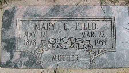 FIELD, MARY EMELIA - Weber County, Utah | MARY EMELIA FIELD - Utah Gravestone Photos