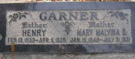 GARNER, HENRY - Weber County, Utah | HENRY GARNER - Utah Gravestone Photos