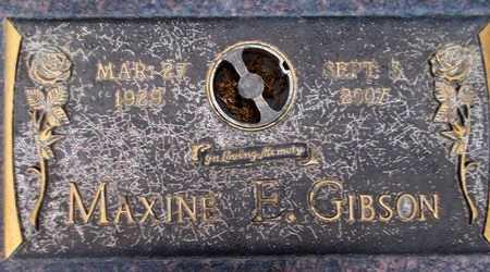 GIBSON, MAXINE ELLIOT - Weber County, Utah | MAXINE ELLIOT GIBSON - Utah Gravestone Photos