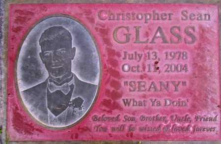 GLASS, CHRISTOPHER SEAN - Weber County, Utah | CHRISTOPHER SEAN GLASS - Utah Gravestone Photos