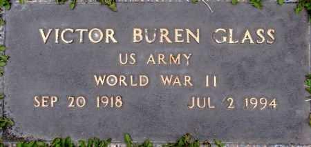 GLASS (WWII), VICTOR BUREN - Weber County, Utah   VICTOR BUREN GLASS (WWII) - Utah Gravestone Photos