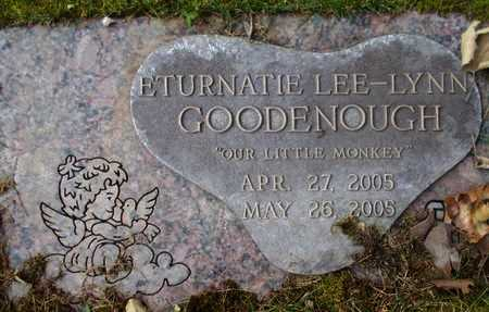 GOODENOUGH, ETURNATIE LEE-LYNN - Weber County, Utah | ETURNATIE LEE-LYNN GOODENOUGH - Utah Gravestone Photos