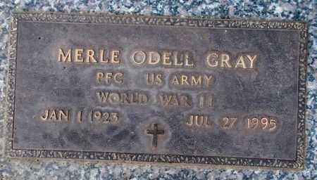 GRAY (WWII), MERLE ODELL - Weber County, Utah | MERLE ODELL GRAY (WWII) - Utah Gravestone Photos