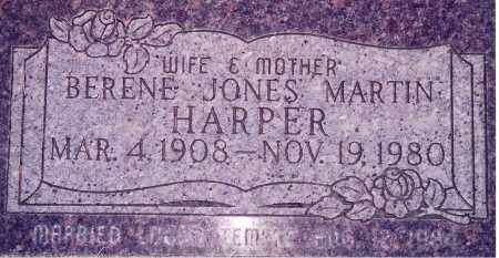 JONES, BERENE ELIZABETH - Weber County, Utah | BERENE ELIZABETH JONES - Utah Gravestone Photos