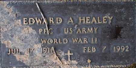 HEALEY (WWII), EDWARD A - Weber County, Utah | EDWARD A HEALEY (WWII) - Utah Gravestone Photos