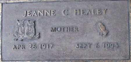 HEALEY, JEANNE C - Weber County, Utah | JEANNE C HEALEY - Utah Gravestone Photos