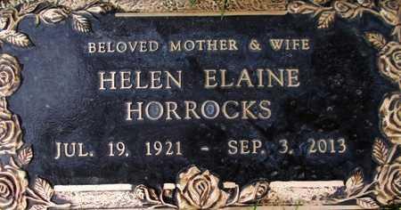 KALLAS HORROCKS, HELEN ELAINE - Weber County, Utah | HELEN ELAINE KALLAS HORROCKS - Utah Gravestone Photos