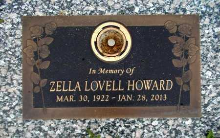 LOVELL HOWARD, ZELLA - Weber County, Utah | ZELLA LOVELL HOWARD - Utah Gravestone Photos