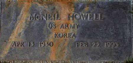 HOWELL (KOR), MCNEIL - Weber County, Utah   MCNEIL HOWELL (KOR) - Utah Gravestone Photos