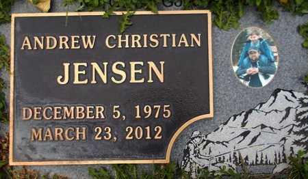 JENSEN, ANDREW CHRISTIAN - Weber County, Utah | ANDREW CHRISTIAN JENSEN - Utah Gravestone Photos