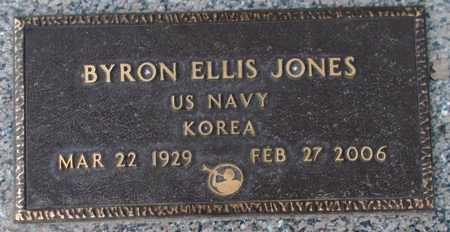 JONES, BYRON ELLIS - Weber County, Utah | BYRON ELLIS JONES - Utah Gravestone Photos