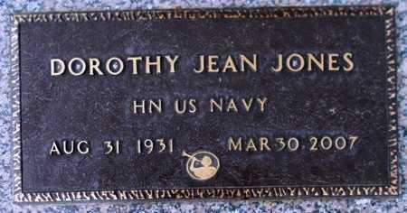 JONES, DOROTHY JEAN - Weber County, Utah | DOROTHY JEAN JONES - Utah Gravestone Photos