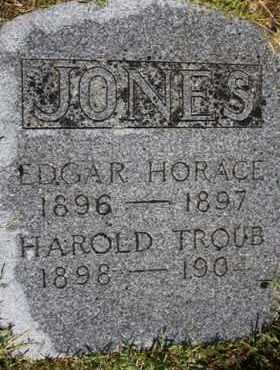 JONES, EDGAR HORACE - Weber County, Utah | EDGAR HORACE JONES - Utah Gravestone Photos