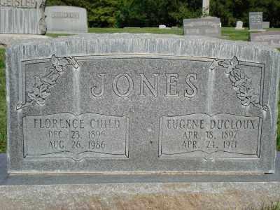 JONES, EUGENE DUCLOUX - Weber County, Utah | EUGENE DUCLOUX JONES - Utah Gravestone Photos
