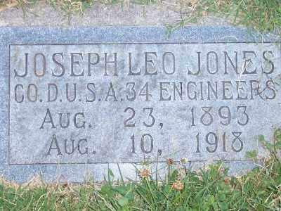 JONES, JOSEPH LEO - Weber County, Utah | JOSEPH LEO JONES - Utah Gravestone Photos