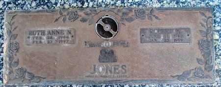 JONES, RUTH ANNE N - Weber County, Utah | RUTH ANNE N JONES - Utah Gravestone Photos
