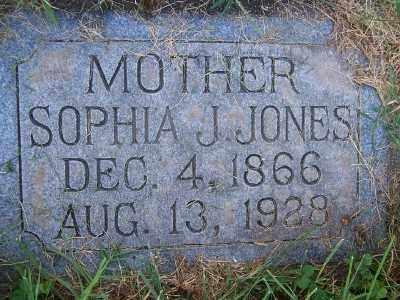 JONES, SOPHIA JULIA - Weber County, Utah | SOPHIA JULIA JONES - Utah Gravestone Photos