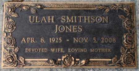 JONES, ULAH - Weber County, Utah | ULAH JONES - Utah Gravestone Photos