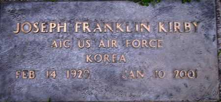 KIRBY (KOR), JOSEPH FRANKLIN - Weber County, Utah   JOSEPH FRANKLIN KIRBY (KOR) - Utah Gravestone Photos