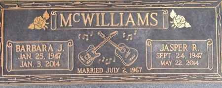 MCWILLIAMS, BARBARA J - Weber County, Utah | BARBARA J MCWILLIAMS - Utah Gravestone Photos