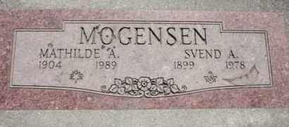 MOGENSEN, SVEND - Weber County, Utah | SVEND MOGENSEN - Utah Gravestone Photos