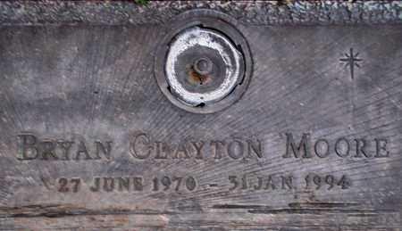 MOORE, BRYAN CLAYTON - Weber County, Utah | BRYAN CLAYTON MOORE - Utah Gravestone Photos