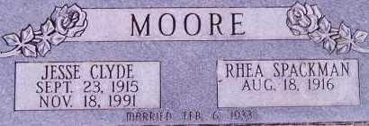 MOORE, JESSE CLYDE - Weber County, Utah   JESSE CLYDE MOORE - Utah Gravestone Photos