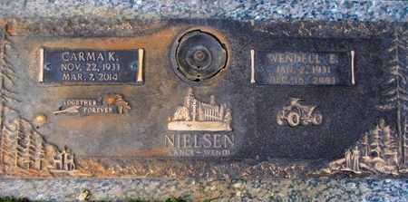 KENDALL NIELSEN, CARMA - Weber County, Utah | CARMA KENDALL NIELSEN - Utah Gravestone Photos