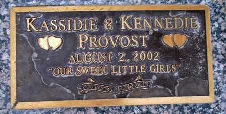 PROVOST, KENNEDIE - Weber County, Utah | KENNEDIE PROVOST - Utah Gravestone Photos