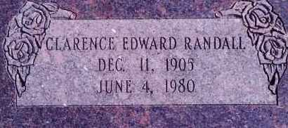 RANDALL, CLARENCE EDWARD - Weber County, Utah | CLARENCE EDWARD RANDALL - Utah Gravestone Photos