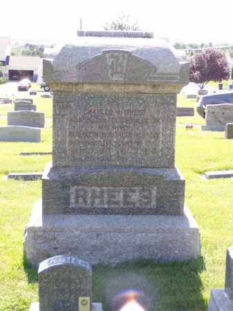 RHEES, ELIZA - Weber County, Utah | ELIZA RHEES - Utah Gravestone Photos