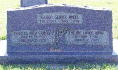 CRAGUN RHEES, FRANCES MAY - Weber County, Utah | FRANCES MAY CRAGUN RHEES - Utah Gravestone Photos