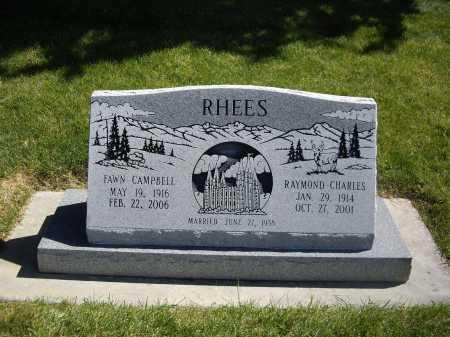 RHEES, FAWN - Weber County, Utah | FAWN RHEES - Utah Gravestone Photos