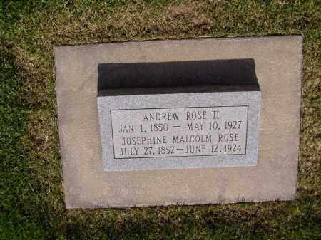 ROSE II, ANDREW - Weber County, Utah | ANDREW ROSE II - Utah Gravestone Photos
