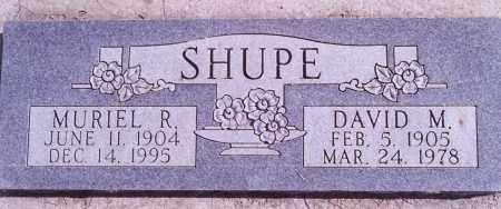 SHUPE, DAVID - Weber County, Utah | DAVID SHUPE - Utah Gravestone Photos