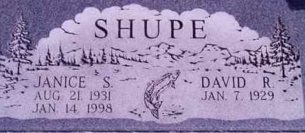 SHUPE, DAVID R - Weber County, Utah | DAVID R SHUPE - Utah Gravestone Photos