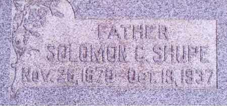 SHUPE, SOLOMON - Weber County, Utah | SOLOMON SHUPE - Utah Gravestone Photos