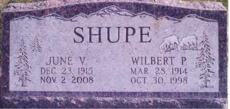 SHUPE, JUNE - Weber County, Utah | JUNE SHUPE - Utah Gravestone Photos