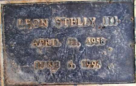 STELLY, LEON - Weber County, Utah | LEON STELLY - Utah Gravestone Photos