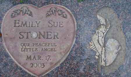 STONER, EMILY SUE - Weber County, Utah   EMILY SUE STONER - Utah Gravestone Photos