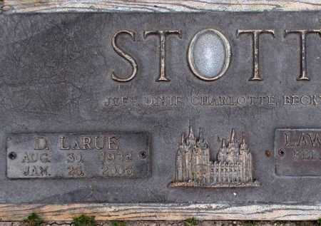 WILLIAMS STOTT, DORIS LARUE - Weber County, Utah | DORIS LARUE WILLIAMS STOTT - Utah Gravestone Photos
