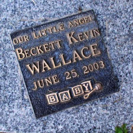 WALLACE, BECKETT KEVIN - Weber County, Utah   BECKETT KEVIN WALLACE - Utah Gravestone Photos