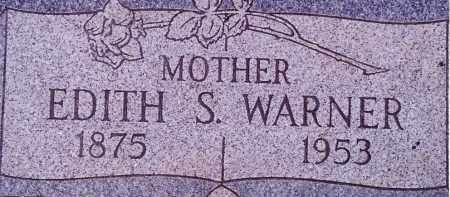 WARNER, EDITH - Weber County, Utah | EDITH WARNER - Utah Gravestone Photos