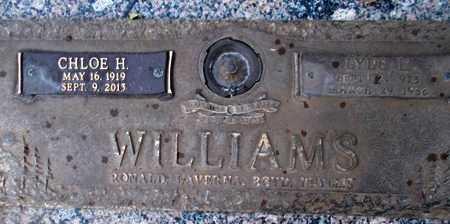 WILLIAMS, CHLOE HELEN - Weber County, Utah | CHLOE HELEN WILLIAMS - Utah Gravestone Photos