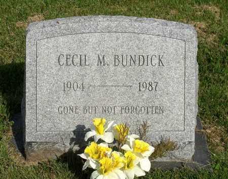 BUNDICK, CECIL M. - Accomack County, Virginia | CECIL M. BUNDICK - Virginia Gravestone Photos