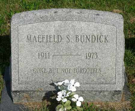 BUNDICK, MAEFIELD S. - Accomack County, Virginia | MAEFIELD S. BUNDICK - Virginia Gravestone Photos