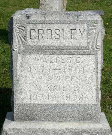 CROSLEY, WALTER C. - Accomack County, Virginia | WALTER C. CROSLEY - Virginia Gravestone Photos
